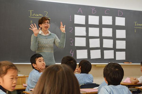 国際社会に対応するための英語教育